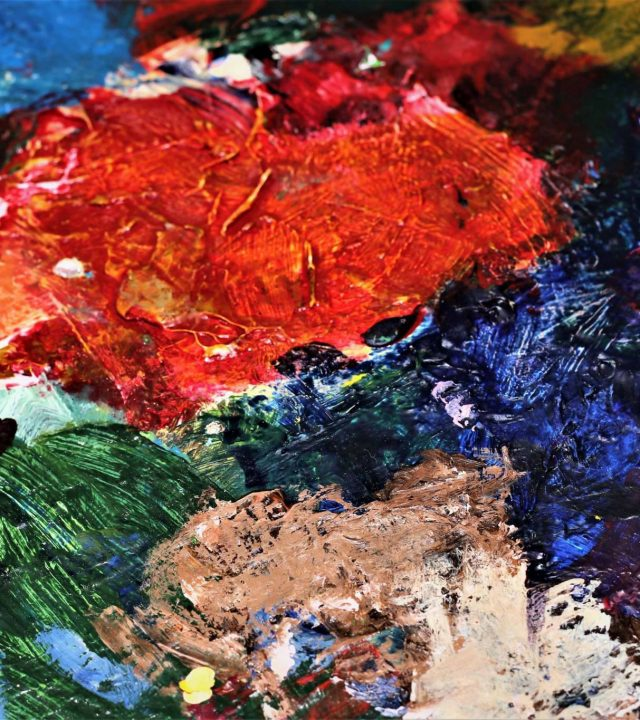 Frans Ermens abstract lyrisch kunstenaar Rijsbergen